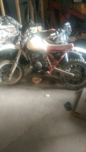 Yz 80 with 100 motor