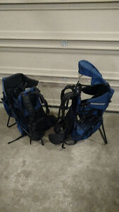 MEC KID CARRIER BACKPACK, TWO / for TWINS, BOTH LIKE NEW Peterborough Peterborough Area image 5