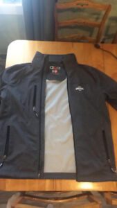 iving jacket, weather tech, almost a dry fit material 80$ medium