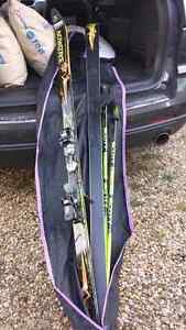 Salomon downhill skis 195 cm (made in France Pr7)