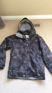 Two men's size large winter jackets. Helly Hansen and firefly