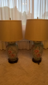 Matching Pair of lamps