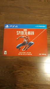 Spiderman collectors edition game