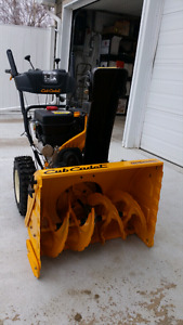 "26"" 2-stage Cub Cadet, LIKE NEW"