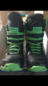 Firefly snowboarding boots - youth size 5