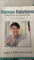 Human Relations, interpersonal, Job oriented skills text book