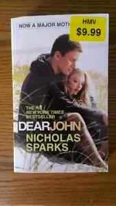 "Mint condition ""Dear John"" novel by Nicholas Sparks"