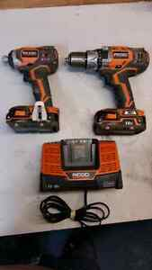 Ridgid X4 hammer drill and driver kit London Ontario image 1