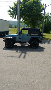 1998 Jeep TJ lift kit rought country