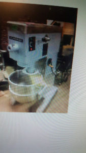 80 quart mixer///also robot coupe mixer chopper