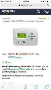 honeywell th4110d1007 Programmable thermostat