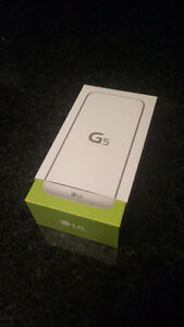 Brand new sealed LG G5 (Fido)