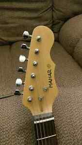 Electric Guitar! Mahar - Black & Red London Ontario image 3