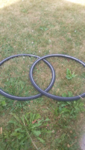 TWO BICYCLE TIRES