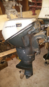 9.5HP johnson outboard