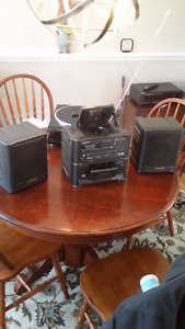 REDUCED Sharp stereo, cassette,CD, radio boombox, ghetto blaster
