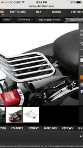 Harley Quick Attach Luggage Rack