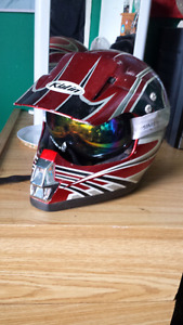 Kylin motocross  helmet w/goggles&gloves