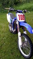 Built Yamaha YzF250