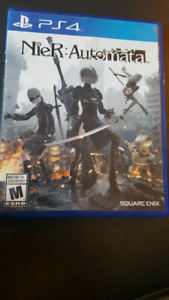 PS 4  Games Nier Automata + Lord of Rings shadow
