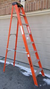 8ft fiberglass ladder industry heavy duty