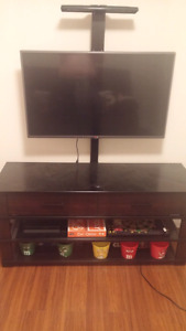 """Lg 40"""" 1080p hd tv with stand"""