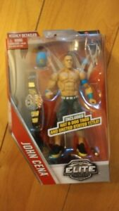 WWE Wrestling John Cena US Championship Belt Elite 40 Figure