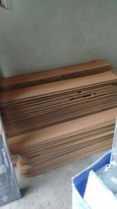 250 square feet of Canadian Red oak laminate flooring