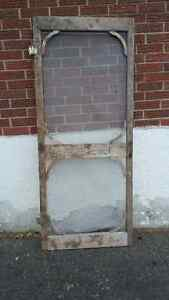 antique screen door