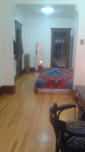 Sublet in a large appartment in the heart of the Mile-end