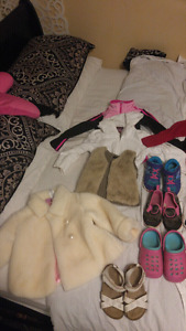 Girls size 3&4, and size 8&9 shoes