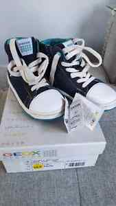 New Geox Side Zip High Tops - Size 10.5