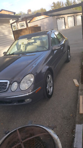 Mercedes Benz e320 4matic need gone