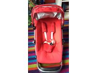 Quinny Buzz Strawberry Red Seat Unit
