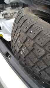 M&S Rated. 185/60/15. Set of 4 Avalanche tires.