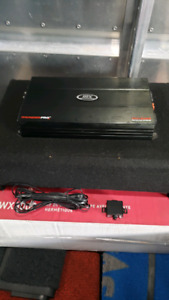 Pioneer Sealed Subwoofer and MTX Mono Car Amplifier for Sale