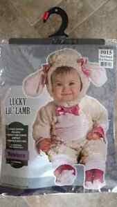 0-6 month Halloween Lamb Costume Kitchener / Waterloo Kitchener Area image 1