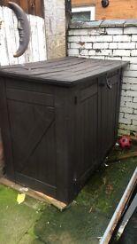 Keter garden storage or static caravan, allotment