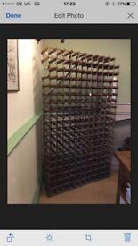 Vintage Farrow & Jackson wine rack 208 bottles