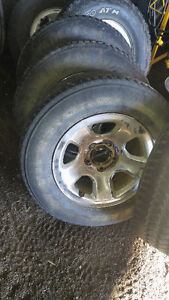 "4- 17"" dodge rims and tires"