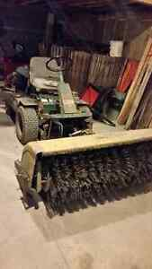 Ransomes tractor with sweeper Sarnia Sarnia Area image 1