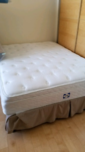Sealy Cabriolet Eurotop Plush Mattress - Queen