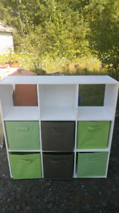 Cube Storage Unit with Baskets