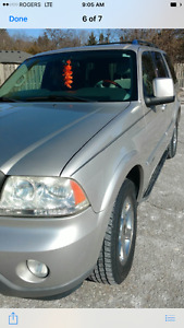 2004 Lincoln Aviator Grey SUV, Crossover