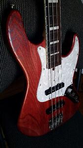 Jazz bass Bacchus Japan not Fender