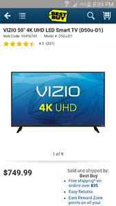 "Vizio D-series 50"" 4k ultra HD smart TV"