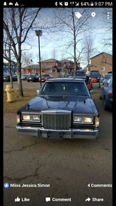 85 towncar Lincoln