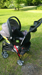 Safety first stroller / car seat combo