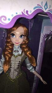"""Disney Store 17"""" Collector Anna Doll - Frozen Strathcona County Edmonton Area image 2"""