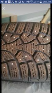 2 pneu General altimax a clou 16pouce